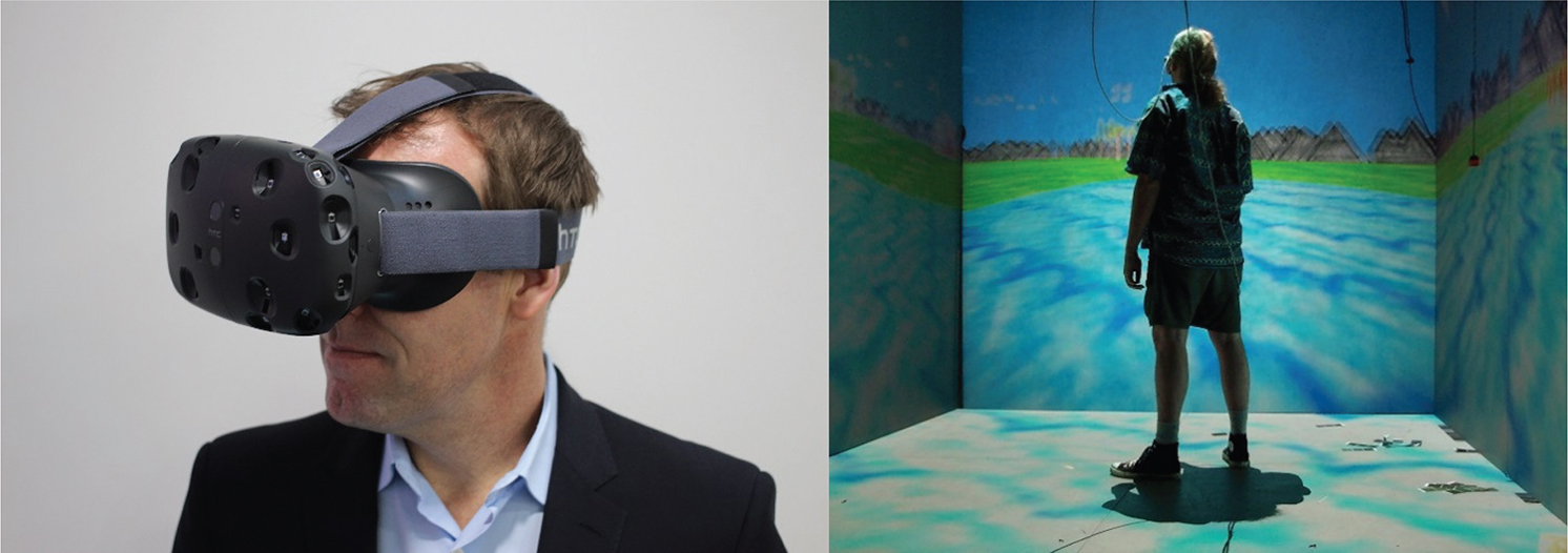 Using mixed reality displays for observational learning of